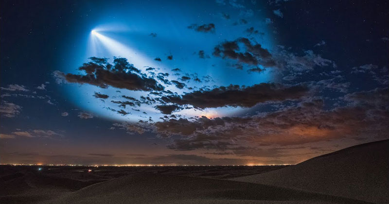 The Best Photos, Videos, and Timelapses from SpaceX's Launch Over LA