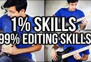 Guy Edits Himself Into a Badass Bass Player