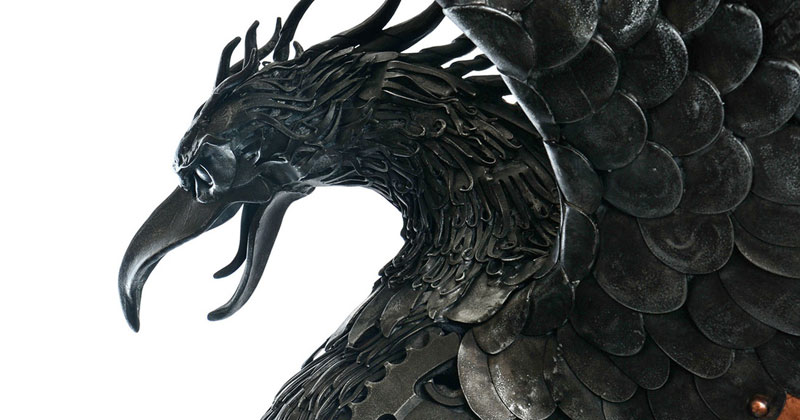 Alan Williams Recycles Discarded Metal Into Awesome Animal Sculptures