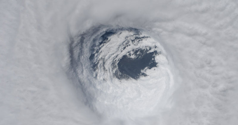 Eye of the Storm: A Surreal Video Inside the Eye of Hurricane Michael