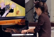 16 Year Old Yannie Tan's Live Rendition of Tom & Jerry's Cat Concerto is Perfect