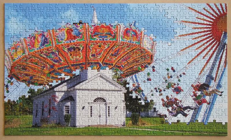 jigsaw puzzle mashups by tim klein 2 Jigsaw Puzzle Mashups by Tim Klein (9 Photos)