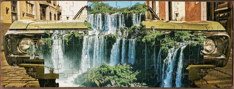 jigsaw puzzle mashups by tim klein 9 Jigsaw Puzzle Mashups by Tim Klein (9 Photos)