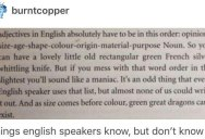 Things Native English Speakers Know, But Don't Know..
