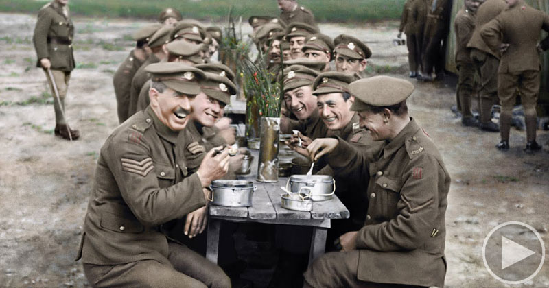 Peter Jackson's Restored and Colorized WW1 Film is Unlike Anything I've Seen
