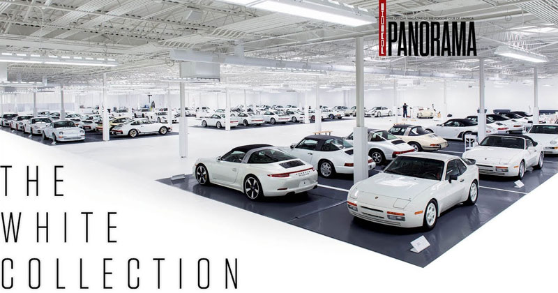 One of the Most Incredible Porsche Collections Ever and They're All White