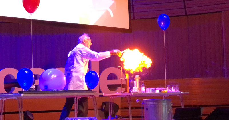 25 Chemistry Experiments in 15 Minutes [TEDx]