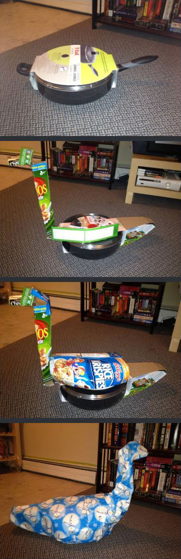funny disguised christmas gifts 3 People Disguising Their Christmas Gifts is My New Favorite Thing
