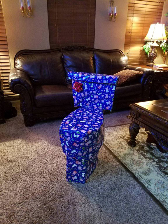 funny disguised christmas gifts 7 People Disguising Their Christmas Gifts is My New Favorite Thing