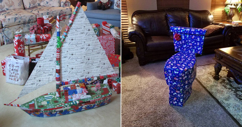 People Disguising Their Christmas Gifts is My New Favorite Thing