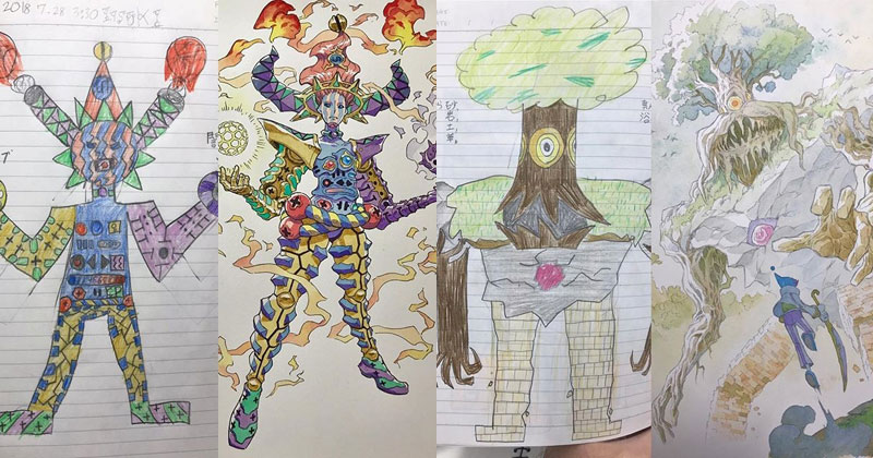 Animator Dad Illustrates His Kids' Drawings and Everything is Awesome