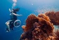 A Spellbinding Ocean Exploration With an Underwater Wheelchair