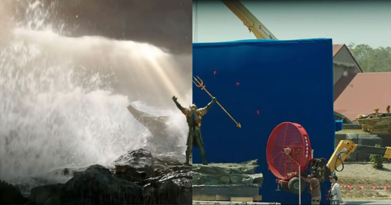 A Behind the Scenes Look at the Incredible VFX of Aquaman