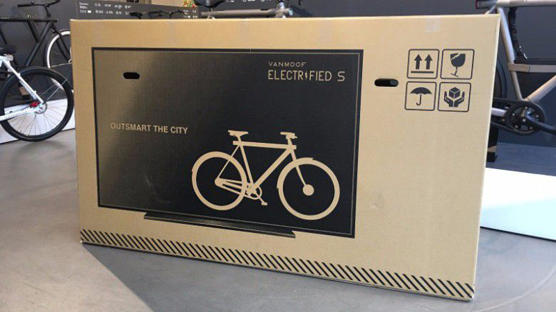 dutch bike company vanmoof puts tv on packaging reduces shipping damage 80 percent 3 Dutch Bike Company Puts TV on Packaging, Reduces Shipping Damage 80%