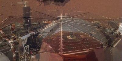 Mars Lander Captures Haunting Sound of Martian Winds