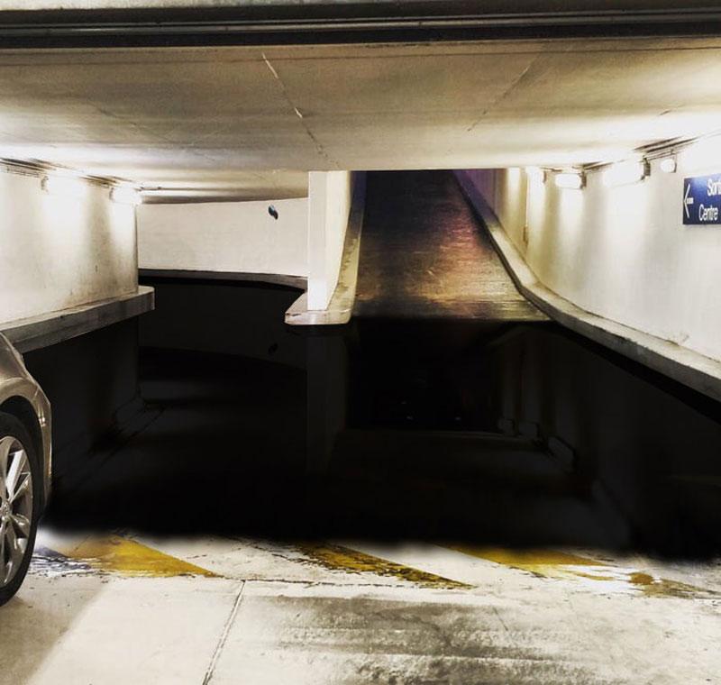 surreal parking garage puddle 3 I Can Admit I Needed Some Help With This Surreal Parking Garage Puddle