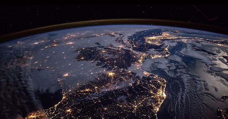 What the World Looks Like From the International Space Station