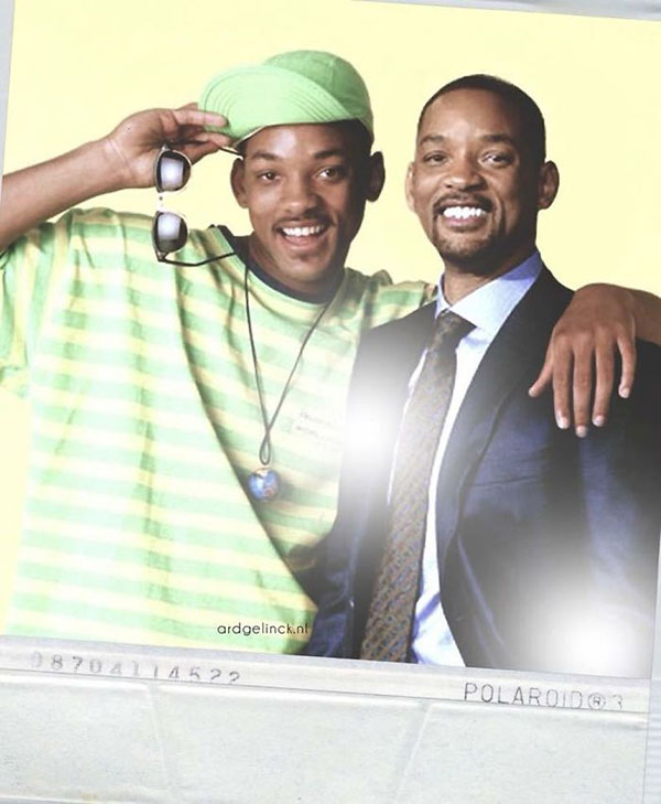 celebs with their younger self46 55 Photos of Celebs Hanging With Their Younger Selves