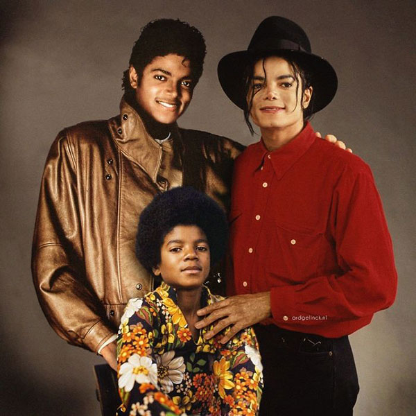 celebs with their younger self54 55 Photos of Celebs Hanging With Their Younger Selves