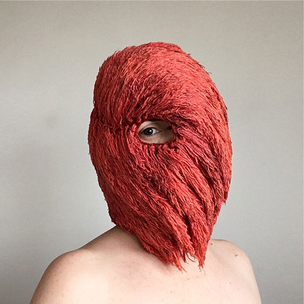 crochet masks by threadstories 6 Artist Crochets Balaclavas, Then Turns Them Into Wild Masks With Yarn