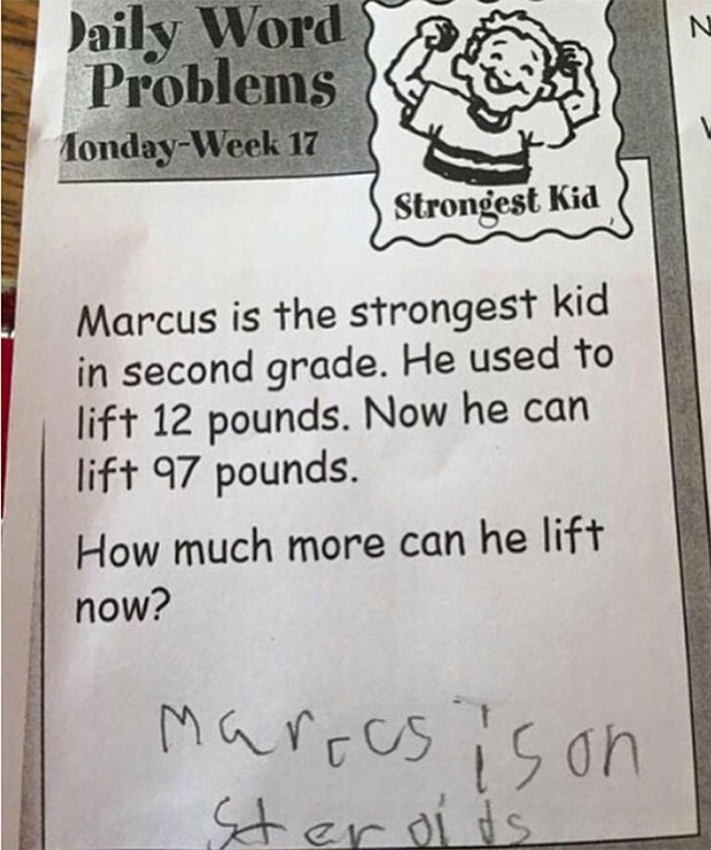 funny witty cheeky test answers 23 25 Inspired Test Answers That Show The Kids Are Going To Be Alright