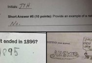 25 'Inspired' Test Answers That Show The Kids Are Going To Be Alright