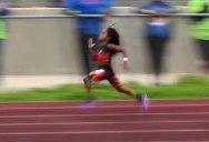 7-Year-Old Blaze Ingram Runs 13.76 second 100m Dash