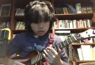 11 Year Old Ukulele Phenom Covers Nirvana's Smells Like Teen Spirit