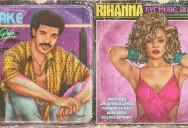 These Retro 80s Album Covers of Today's Pop Stars are Totally Radical