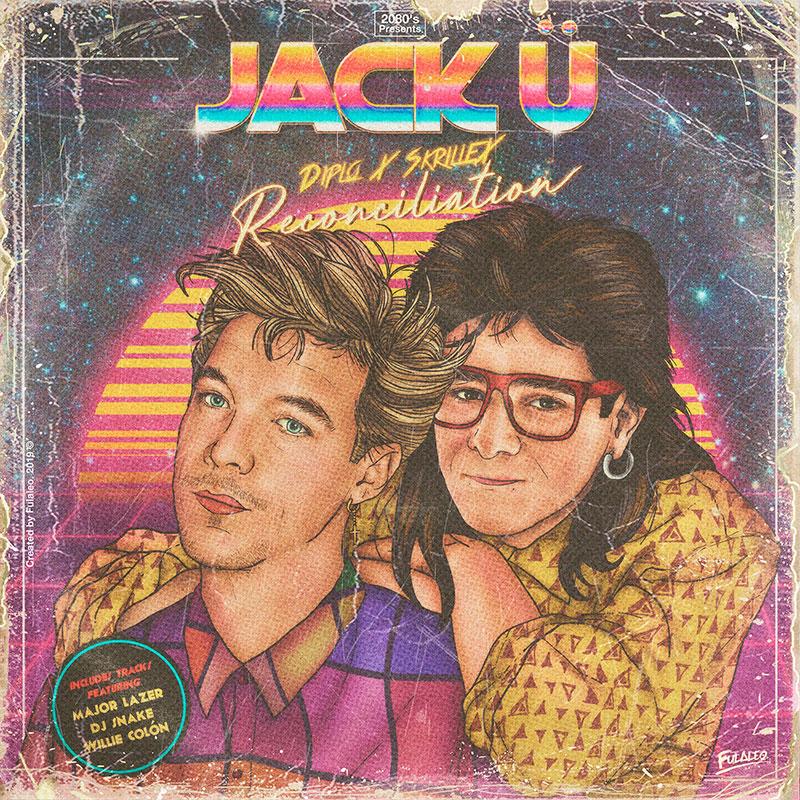 80s album covers of todays pop stars 2 These Retro 80s Album Covers of Todays Pop Stars are Totally Radical