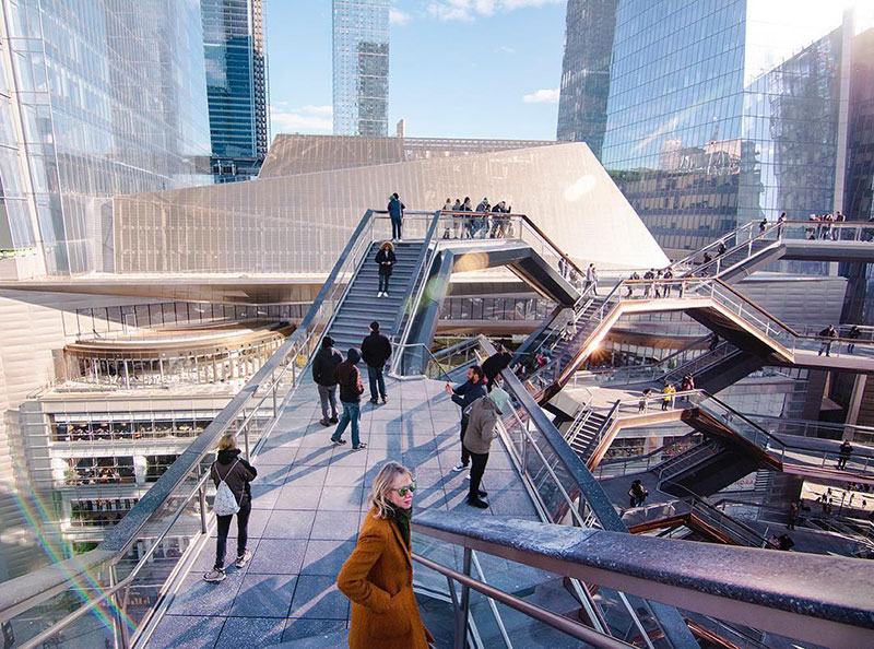 endless staircase in new york hudson yards vessel heatherwick 6 New Yorks Touristy New Public Space is a Giant Endless Staircase