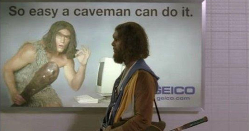 All of Geico's Best Caveman Commercials in One Nostalgic Supercut