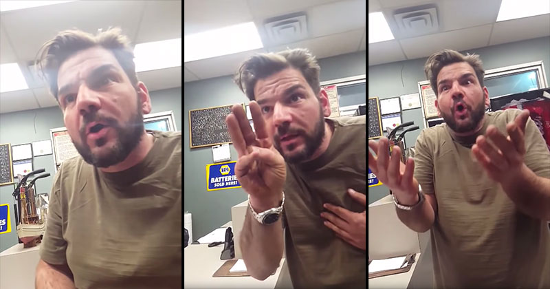 Guy Finds Out He's Having Triplets, Reacts.. Unexpectedly