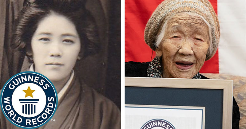 Meet the World's Oldest Confirmed Person, 116-Year-Old Kane Tanaka
