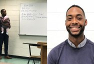 Teacher Goes Viral After Holding Student's Baby So They Could Take Notes