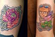 These Tattoos Look Like Patches Embroidered Into People's Skin