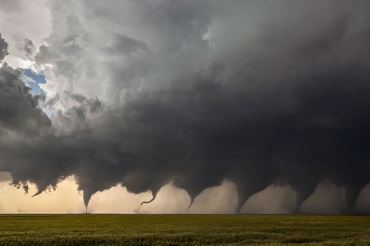 evolution of a tornado The Evolution of a Tornado