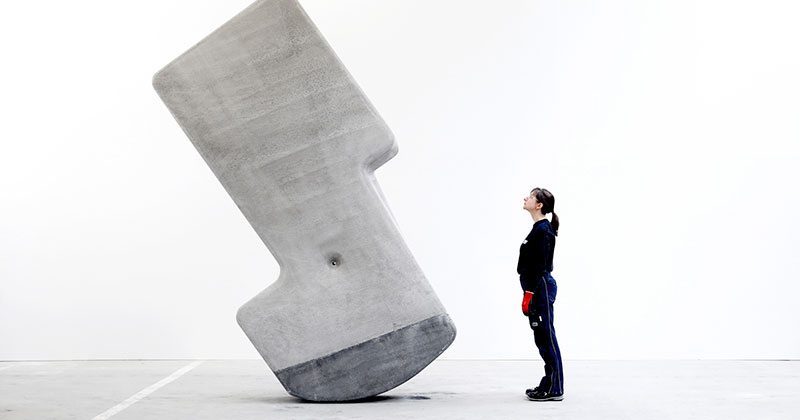 Moving Giant Concrete Blocks With Just Your Hands