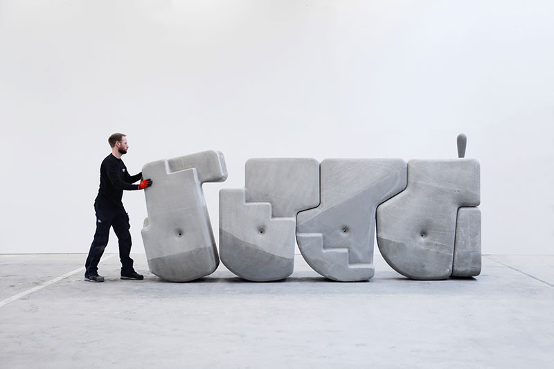 moveable concrete blocks by matter design 6 Moving Giant Concrete Blocks With Just Your Hands