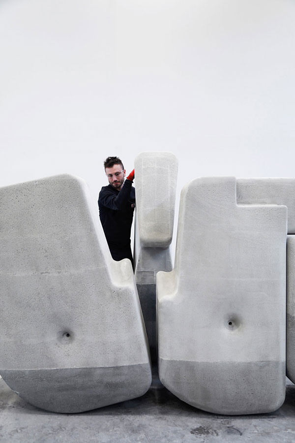 moveable concrete blocks by matter design 8 Moving Giant Concrete Blocks With Just Your Hands