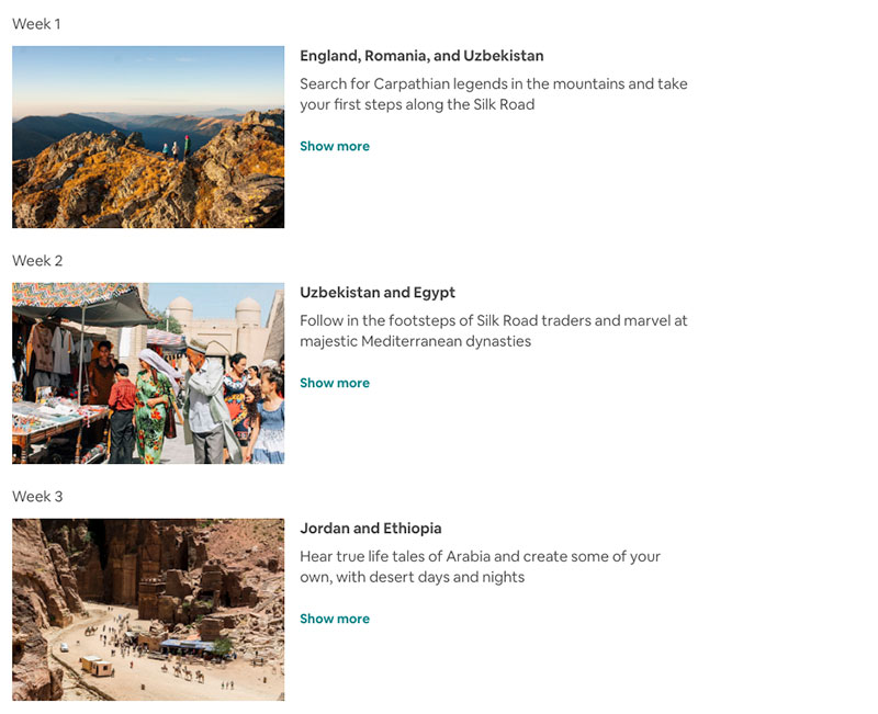 airbnb around the world in 80 days trip 1 Airbnb Is Offering an Around the World in 80 Days Trip of a Lifetime