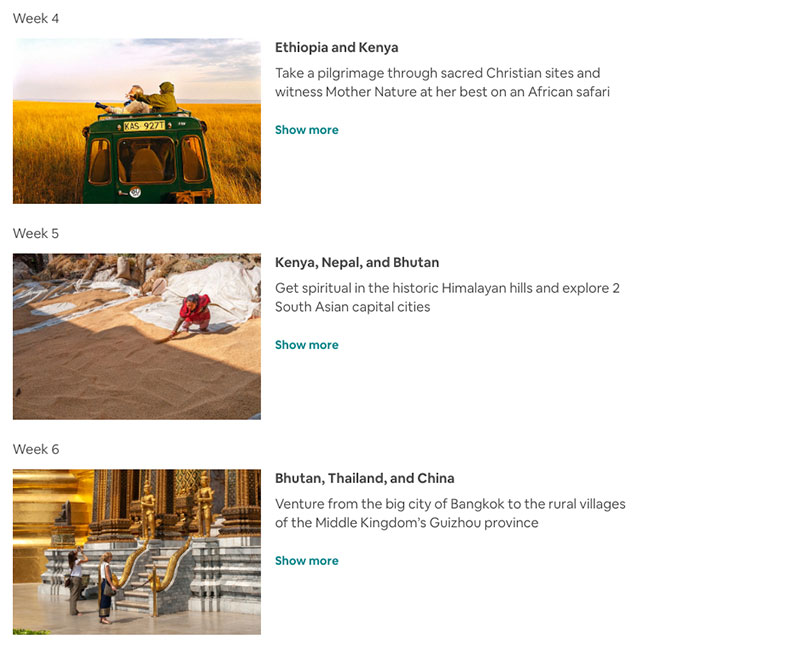 airbnb around the world in 80 days trip 2 Airbnb Is Offering an Around the World in 80 Days Trip of a Lifetime