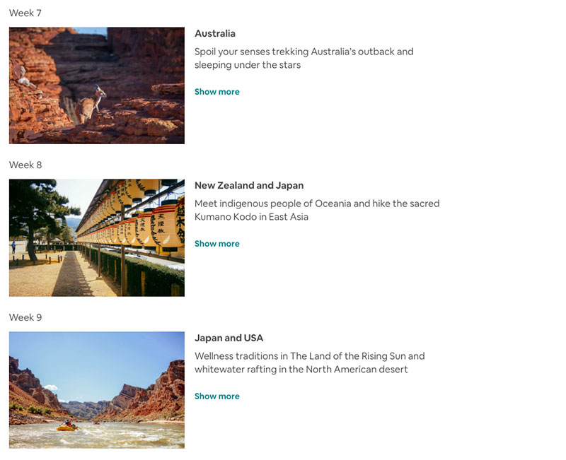 airbnb around the world in 80 days trip 3 Airbnb Is Offering an Around the World in 80 Days Trip of a Lifetime
