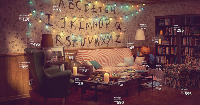 Famous TV Living Rooms Recreated Entirely With Ikea Furniture