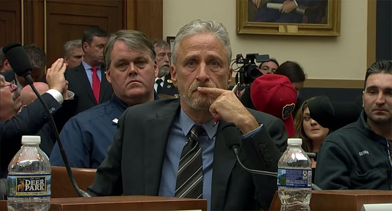 Jon Stewart's Incredible Speech to Congress on Behalf of 9/11 First Responders