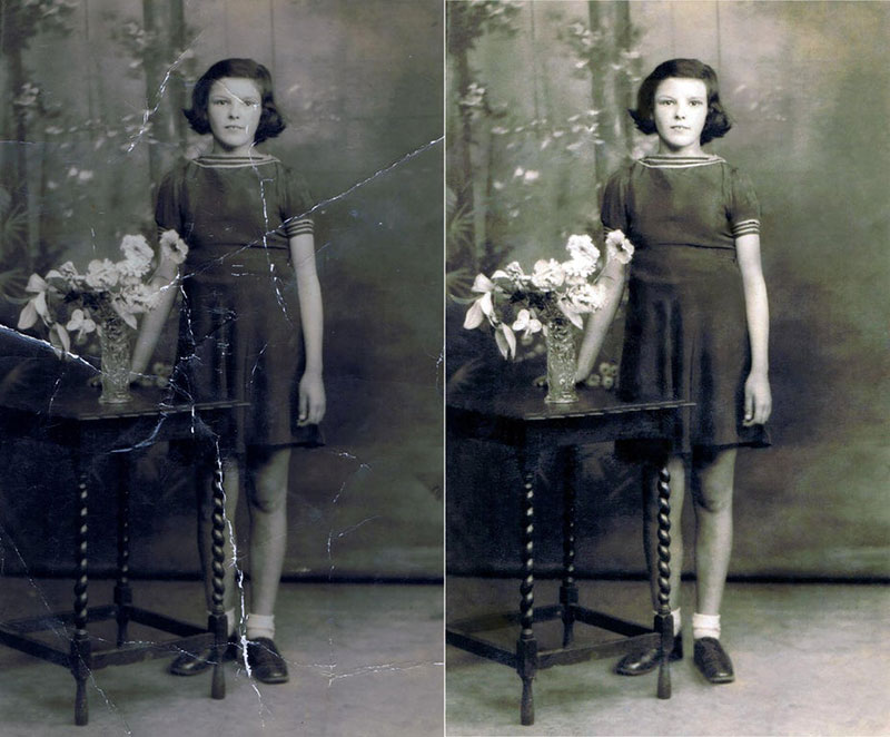 these artists restore old damaged photos and the results are incredible 10 These Artists Restore Old Damaged Photos and the Results are Incredible