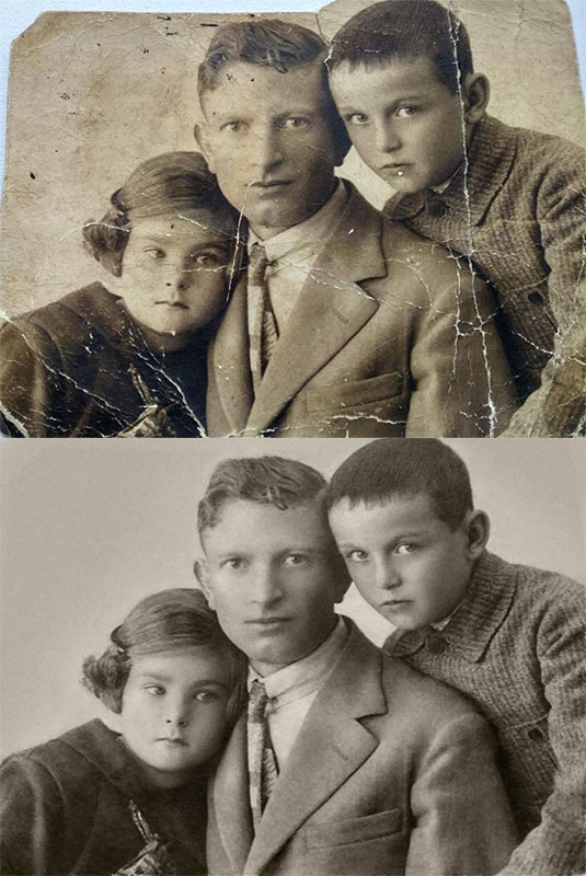 these artists restore old damaged photos and the results are incredible 5 These Artists Restore Old Damaged Photos and the Results are Incredible