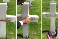 Using Sand from Omaha Beach to Make These Heroes' Names More Visible