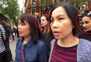 Female Pickpocket Gang in London Caught on Camera Stealing Purse From Tourist