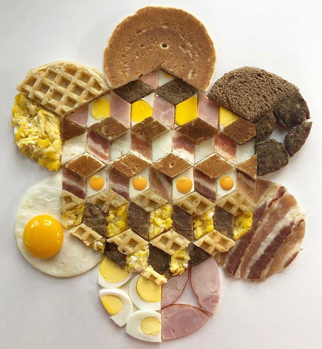 food art by adam hillman 20 21 Delicious Geometric Food Gradients by Artist Adam Hillman